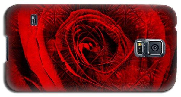 A Rose Galaxy S5 Case by Kylie Sabra