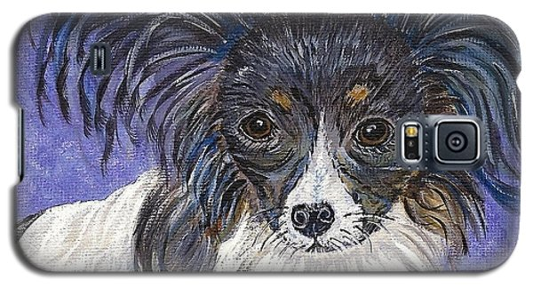 Galaxy S5 Case featuring the painting A Royal Papillon by Ella Kaye Dickey