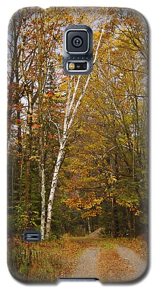 Galaxy S5 Case featuring the photograph A Rural Fall  by Judy  Johnson