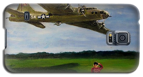 A Salute To The Greatest Generation Galaxy S5 Case by Jack Skinner