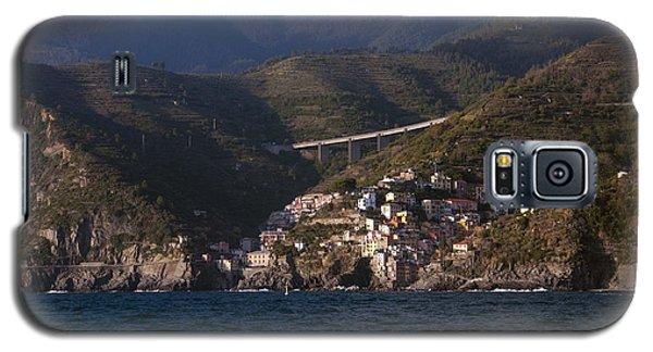 A Sea View Of Riomaggiore Galaxy S5 Case