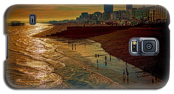 Galaxy S5 Case featuring the photograph A September Evening In Brighton by Chris Lord