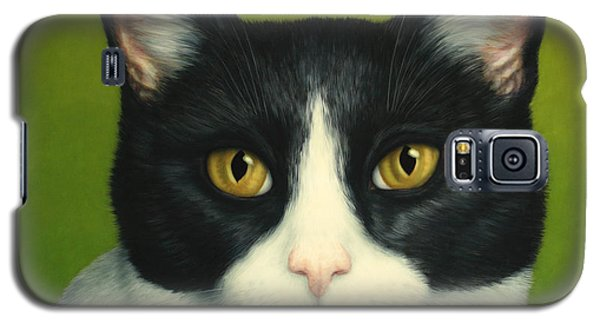 A Serious Cat Galaxy S5 Case