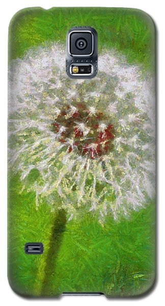 Galaxy S5 Case featuring the painting A Simple Beauty by Joe Misrasi