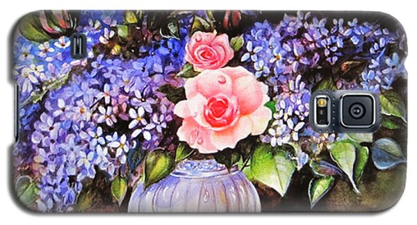 A Simple Flower Galaxy S5 Case by Patricia Schneider Mitchell