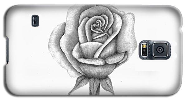 A Single Rose Galaxy S5 Case by Patricia Hiltz