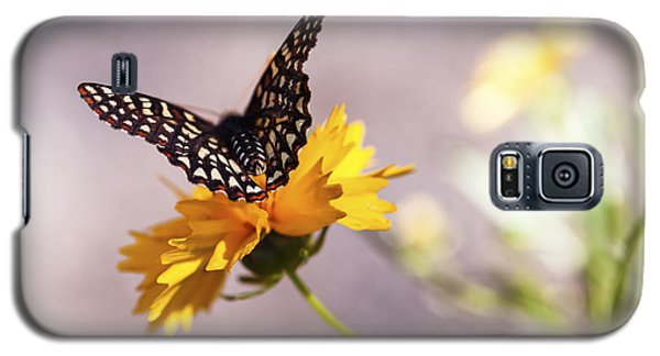 A Sip Of Coreopsis Galaxy S5 Case by Caitlyn  Grasso