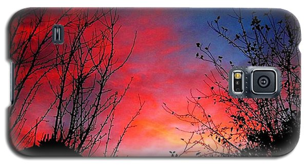 A Sky Made By...fire.. Galaxy S5 Case