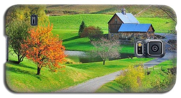 Sleepy Hollow Autumn - Pomfret Vermont Galaxy S5 Case