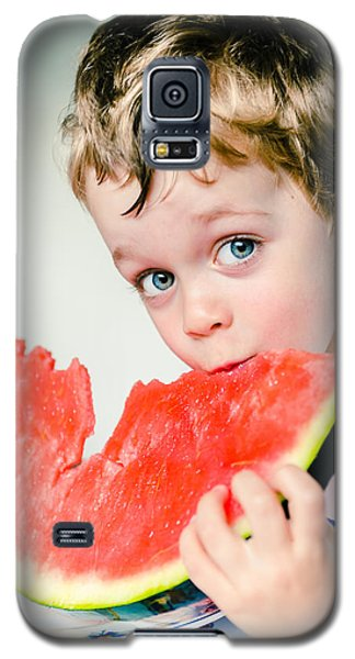 Watermelon Galaxy S5 Case - A Slice Of Life by Marco Oliveira