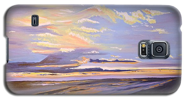 Galaxy S5 Case featuring the painting A South Facing Shore by Donna Blossom