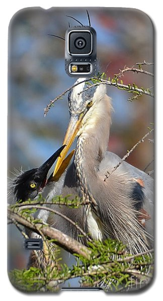 Galaxy S5 Case featuring the photograph A Special Moment by Kathy Baccari