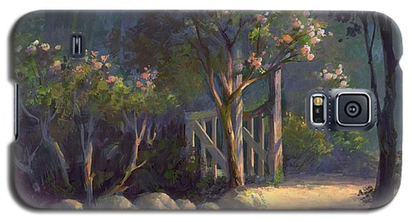 Galaxy S5 Case featuring the painting A Special Place by Michael Humphries