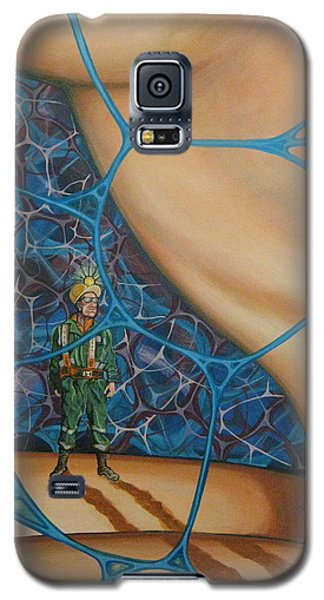 A Spelunkers Search For Life Galaxy S5 Case