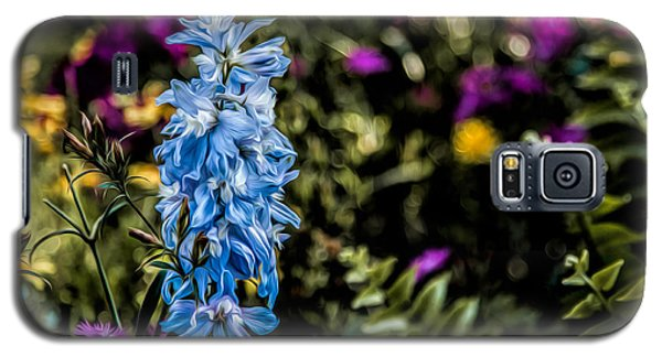Galaxy S5 Case featuring the photograph A Splash Of Blue by Joshua Minso