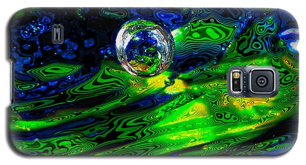 A Splash Of Seahawks Galaxy S5 Case