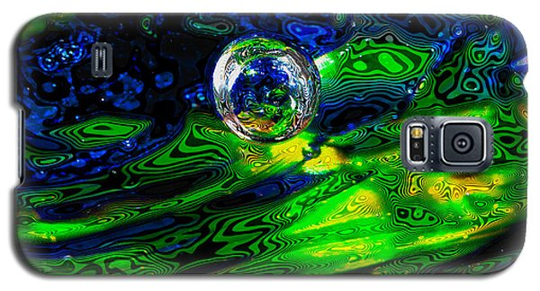 A Splash Of Seahawks Galaxy S5 Case