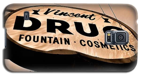 A Store For Everyone - Vintage Pharmacy Sign Galaxy S5 Case by Steven Milner