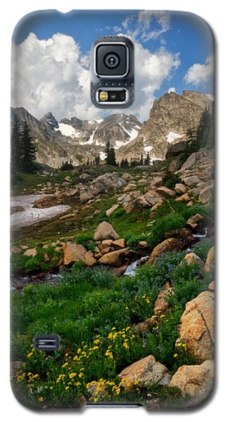 Galaxy S5 Case featuring the photograph A Stream Runs Through It by Ronda Kimbrow