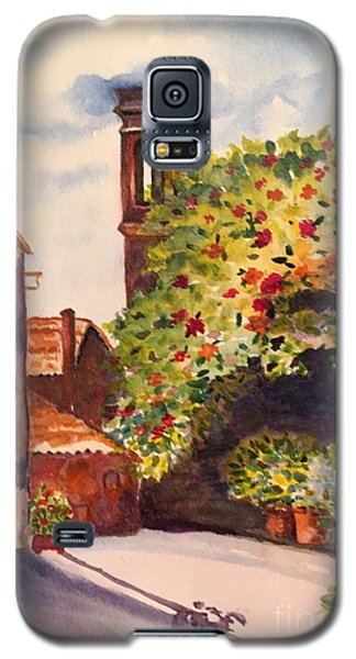 A Street In Tuscany Galaxy S5 Case