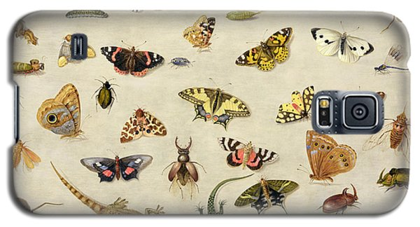 Ant Galaxy S5 Case - A Study Of Insects by Jan Van Kessel