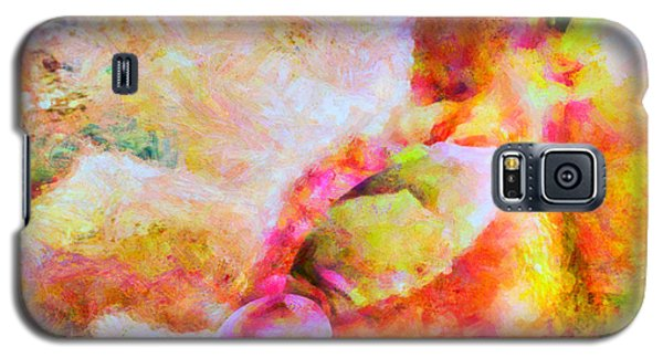 Galaxy S5 Case featuring the painting A Summer Afternoon Love by Joe Misrasi