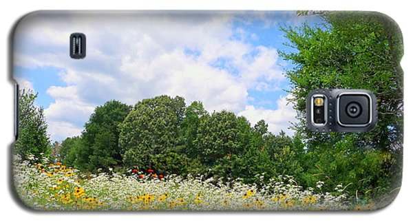 Galaxy S5 Case featuring the photograph A Summer Meadow by Jim Whalen