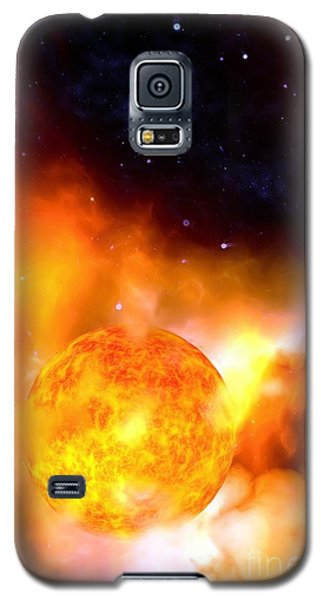 A Sun Rises Galaxy S5 Case