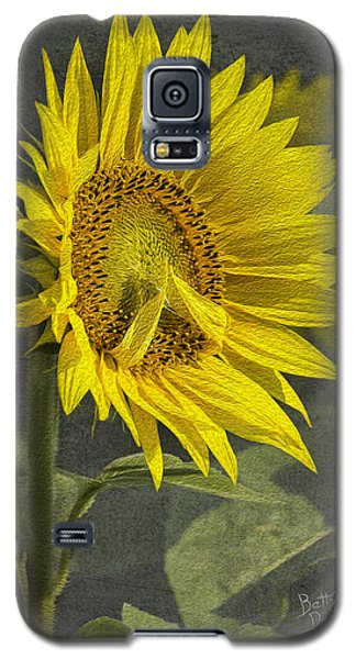 Galaxy S5 Case featuring the photograph A Sunflower's Prayer by Betty Denise