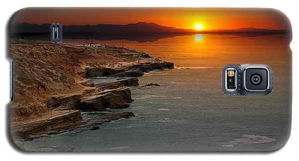 A Sunset Galaxy S5 Case by Lynn Geoffroy