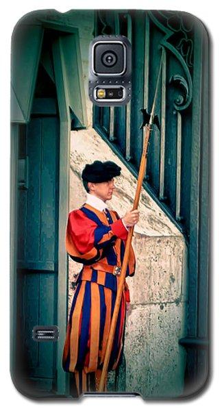 A Swiss Guard Galaxy S5 Case by Tom Prendergast