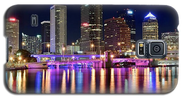 A Tampa Bay Night Galaxy S5 Case by Frozen in Time Fine Art Photography