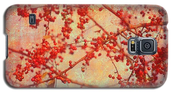 A Tangle Of Fruited Branches Galaxy S5 Case