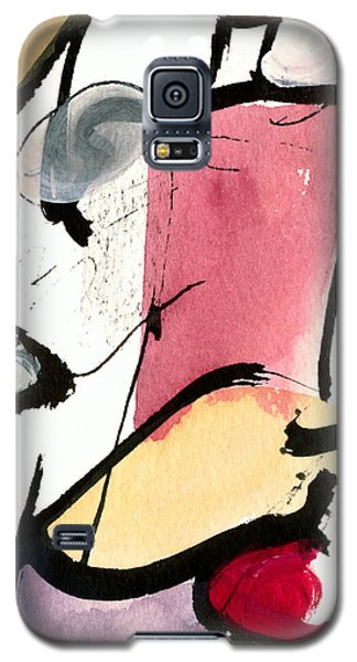 Galaxy S5 Case featuring the painting A Thing Of Beauty by Stephen Lucas