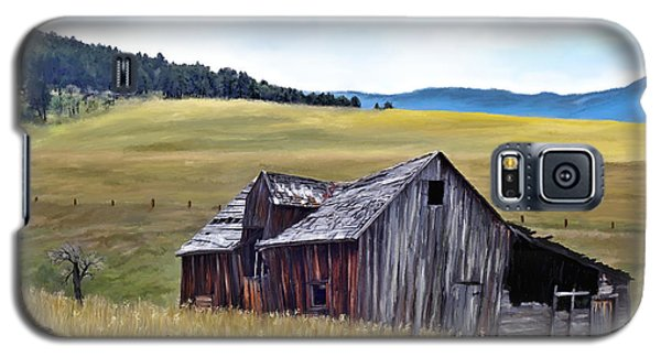 A Time In Montana Galaxy S5 Case by Susan Kinney