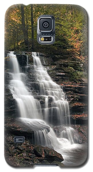A Touch Of Autumn At Erie Falls Galaxy S5 Case