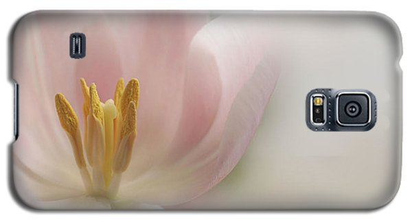 Galaxy S5 Case featuring the photograph A Touch Of Pink by Annie Snel