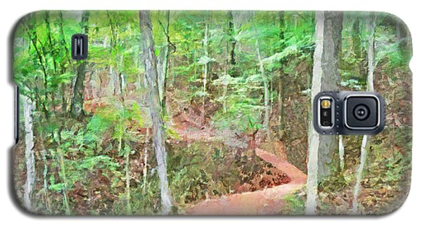 A Trail Through The Woods Galaxy S5 Case