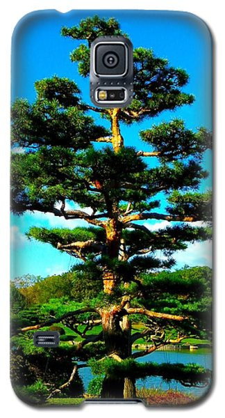 Galaxy S5 Case featuring the photograph A Tree... by Tim Fillingim