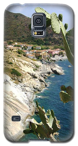 Galaxy S5 Case featuring the photograph A Typical Bay Of Elba Island by Giuseppe Epifani