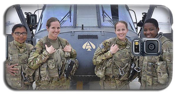 Helicopter Galaxy S5 Case - A U.s. Army All Female Crew by Stocktrek Images