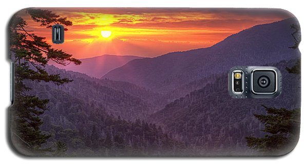 A View At Sunset Galaxy S5 Case by Andrew Soundarajan