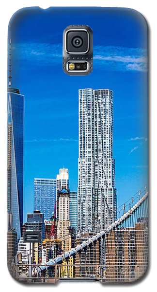 A View From The Brooklyn Bridge Galaxy S5 Case