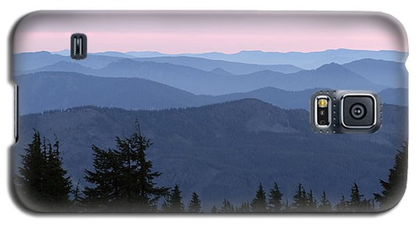 A View From Timberline Galaxy S5 Case