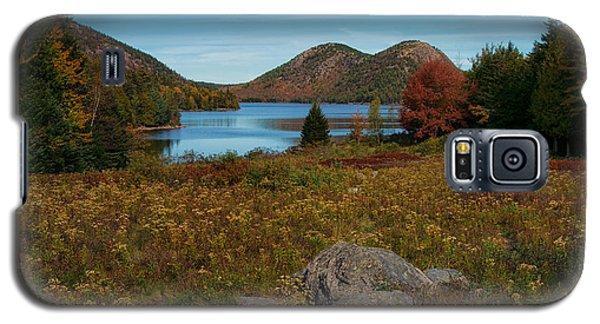 A View Of Jordan Pond Galaxy S5 Case