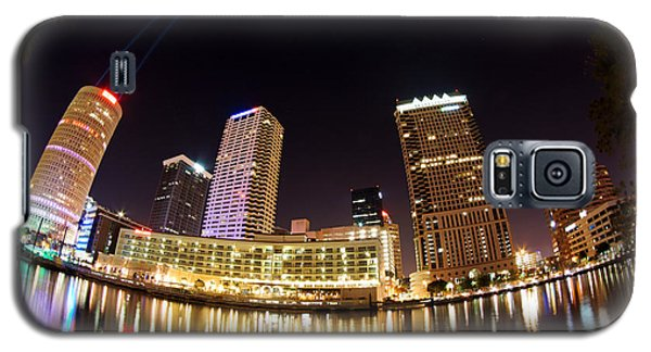 A View Of Tampa And The Hillsborough River Galaxy S5 Case