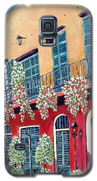Galaxy S5 Case featuring the painting A Visit To New Orleans by Suzanne Theis