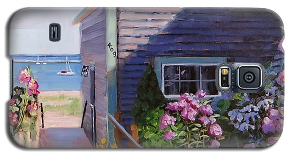 Town Galaxy S5 Case - A Visit To P Town Two by Laura Lee Zanghetti