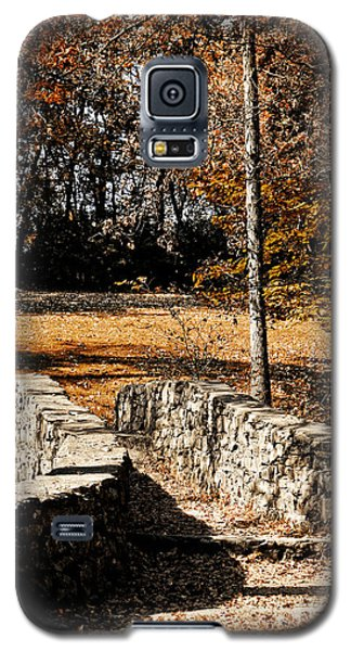A Walk Along The Old Stone Path Galaxy S5 Case by Lincoln Rogers