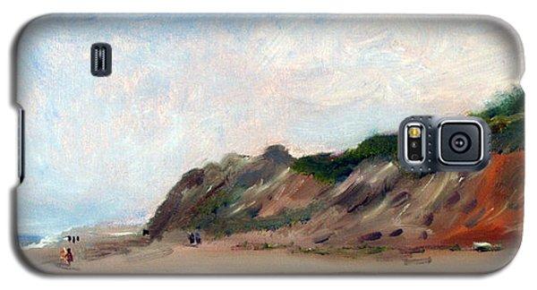 A Walk Down Cahoon Hollow Beach Galaxy S5 Case